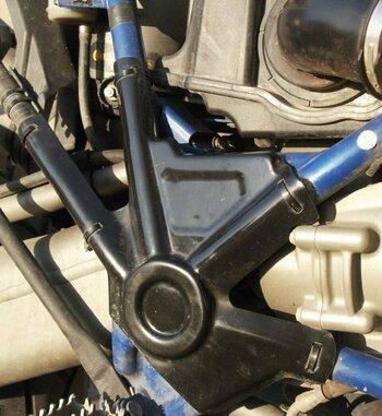 Protector de chasis de plástico para BMW HP2 Enduro