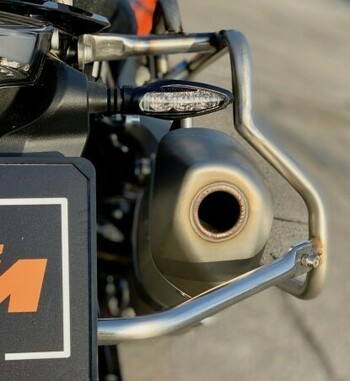 Soporte maletas Holan Pro para KTM 790 Adventure