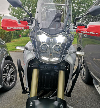 Paramanos Barkbusters VPS para Yamaha Tenere 700