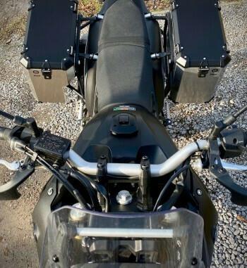 Sistema de maletas aluminio Holan Nomada Pro para Yamaha Tenere 700