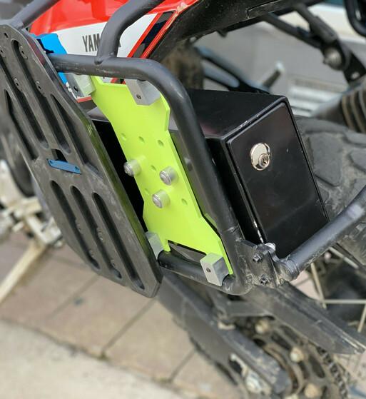 Caja de Herramientas para soporte de maletas