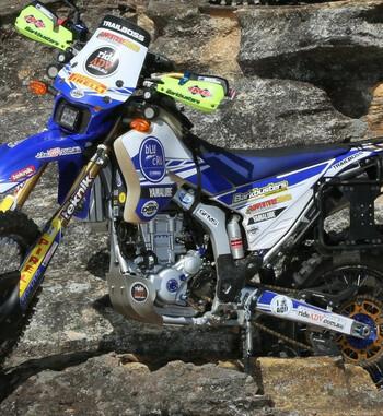 Yamaha WR 250R – Soportes de maletas