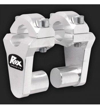 Alzas de manillar ROX de 50mm para manillar de 22mm de...
