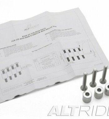 Soportes rack trasero AltRider para asiento Rally de BMW R 1200 GS LC