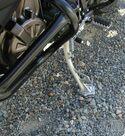 Extensión de la pata de cabra AltRider para Yamaha XT 1200 Z Super Ténéré