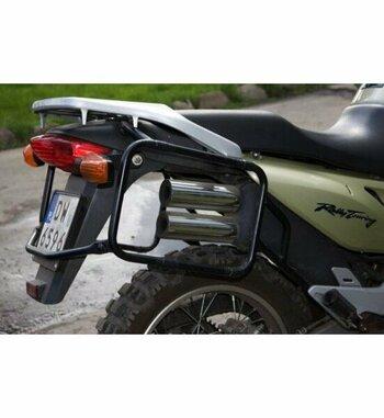 Soporte maletas Holan para Honda Transalp 650