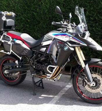 Kit Adhesivos Vinilo Uniracing para BMW F 800 GS