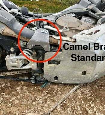 Protector de estribo Camel Adv para Honda Africa Twin CRF1000L