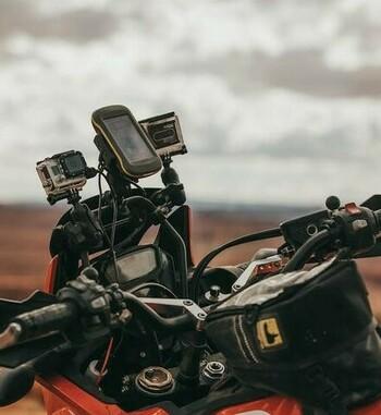 Barra de soporte de GPS para Honda Africa Twin CRF1000