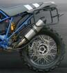 Soporte asimétrico maletas Holan para BMW HP2 Enduro