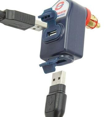 Cargador doble USB resistente al agua de 3300mA