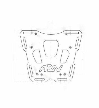 Soporte Top Case Holan para Yamaha XT 660 Z Ténéré